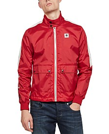 G-Star RAW Men's Meson Biker Overshirt Jacket