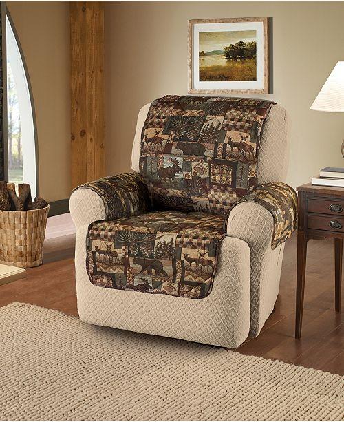 P/Kaufmann Home Lodge Recliner Slipcover