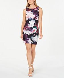 Petite Floral Sheath Dress