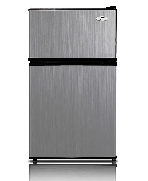 SPT Appliance Inc. SPT 3.1 Cubic feet Double Door Refrigerator with Energy Star - Stainless Steel