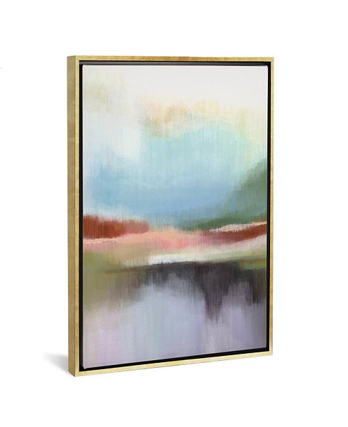 """iCanvas Spring Lake I by Alison Jerry Gallery-Wrapped Canvas Print - 40"""" x 26"""" x 0.75"""""""