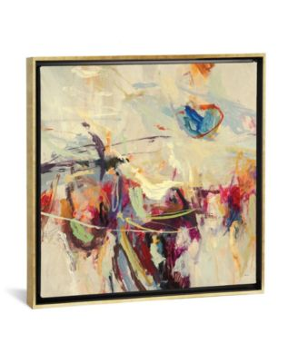 """Positive Energy Ii by Randy Hibberd Gallery-Wrapped Canvas Print - 37"""" x 37"""" x 0.75"""""""