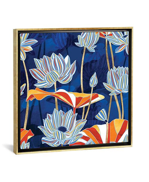 """iCanvas Bold Botanical by Spacefrog Designs Gallery-Wrapped Canvas Print - 26"""" x 26"""" x 0.75"""""""