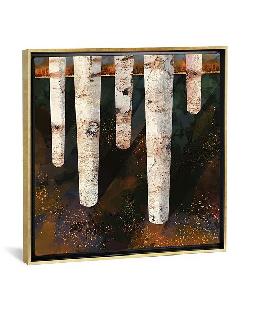 "iCanvas Forest Glow by Spacefrog Designs Gallery-Wrapped Canvas Print - 26"" x 26"" x 0.75"""