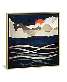 Midnight Beach by Spacefrog Designs Gallery-Wrapped Canvas Print