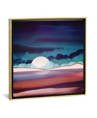 """Red Sea by Spacefrog Designs Gallery-Wrapped Canvas Print - 37"""" x 37"""" x 0.75"""""""