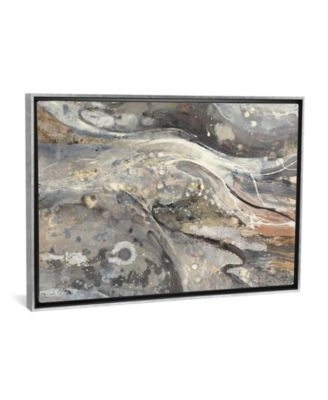 "Minerals Iii by Albena Hristova Gallery-Wrapped Canvas Print - 26"" x 40"" x 0.75"""