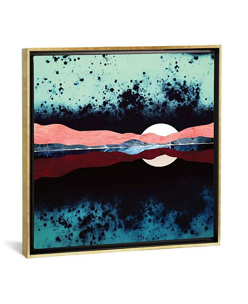 "iCanvas Night Sky Reflection by Spacefrog Designs Gallery-Wrapped Canvas Print - 18"" x 18"" x 0.75"""