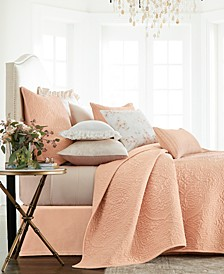 Classic Roseblush Full/Queen Coverlet, Created for Macy's