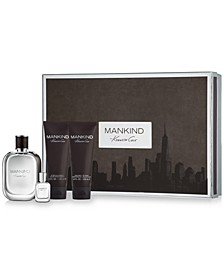 Men's 4-Pc. Mankind Gift Set
