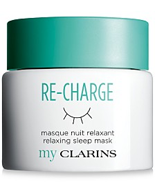 My Clarins Re-Charge Relaxing Sleep Mask, 1.7 oz.