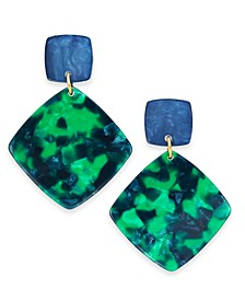 INC Geometric Drop Earrings, Created for Macy's