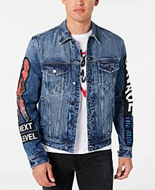 Men's Denim Concert Jacket