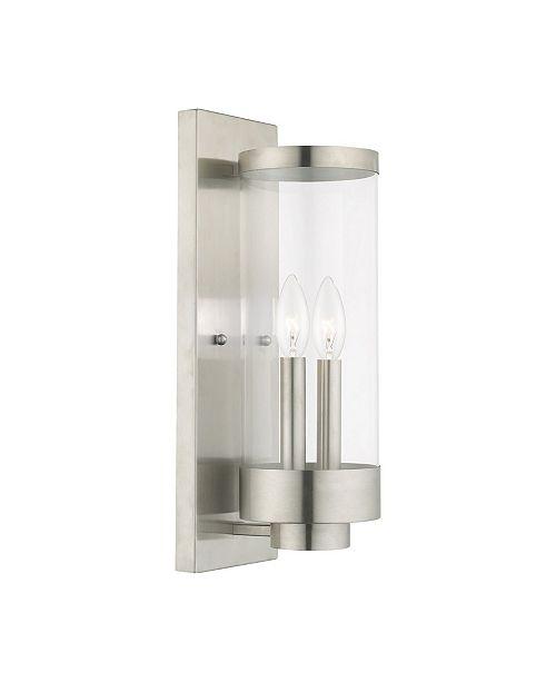 Livex Hillcrest 2-Light Outdoor Wall Lantern