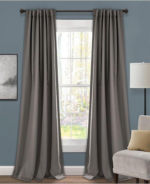 "Lush Decor Insulated 52"" x 95"" Blackout Curtain Set"