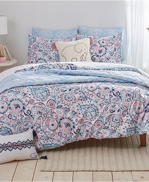 Ivory Ella Nicole Twin XL Comforter Set