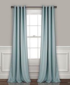 "Insulated 52"" x 108"" Blackout Curtain Set"