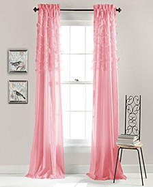 "Avery Ruffle 54"" x 84"" Curtain Set"