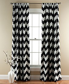 "Chevron 52"" x 84"" Curtain Set"
