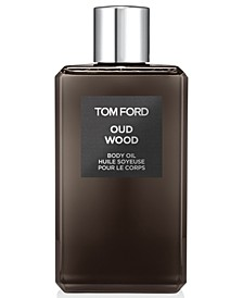 Oud Wood Body Oil, 8.4-oz.