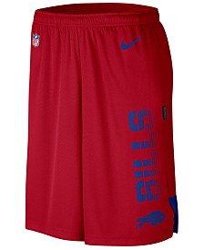 Nike Men's Buffalo Bills Player Knit Breathe Shorts