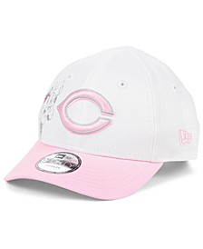 Toddlers & Little Girls Cincinnati Reds Minnie Heart 9FORTY Adjustable Cap