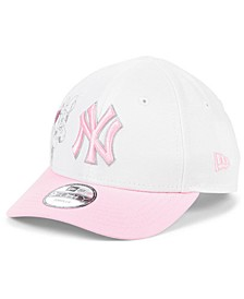 Toddlers & Little Girls New York Yankees Minnie Heart 9FORTY Adjustable Cap