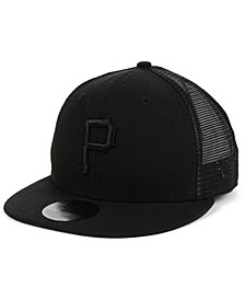 Pittsburgh Pirates Blackout Meshback 59FIFTY-FITTED Cap