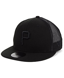 New Era Pittsburgh Pirates Blackout Meshback 59FIFTY-FITTED Cap