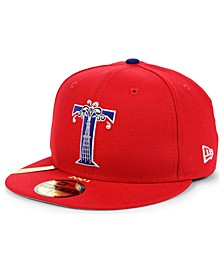 Tulsa Drillers MiLB 100TH Anniversary Patch 59FIFTY-FITTED Cap