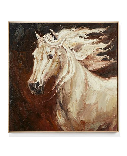 Horse Hand Painted Canvas Wall Art