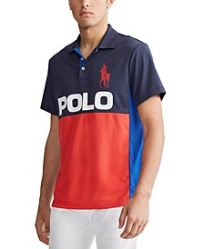 Men's Performance Piqué Polo Shirt