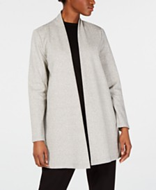 Eileen Fisher Simple Longline Jacket