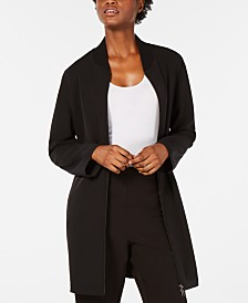 Eileen Fisher Long Flight Jacket