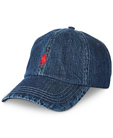 Polo Ralph Lauren Men's Denim Sport Cap