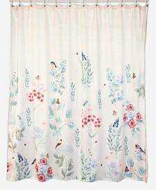 Lenox Meadow Bird Shower Curtain
