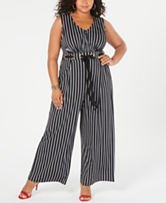 4ebe350677 Plus Size Rompers & Jumpsuts - Macy's
