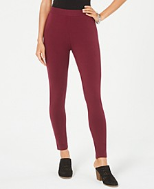Petite Pull-On Leggings, Created for Macy's