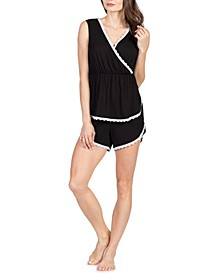 Lauren Maternity and Nursing Pajama Set, Online Only