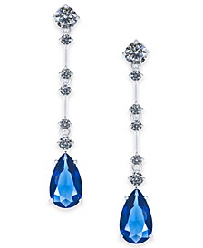 Danori Cubic Zirconia Teardrop Drop Earrings, Created for Macy's