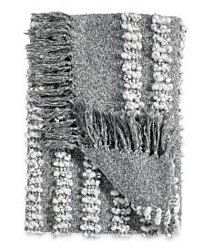 DKNY Pure Bobble Throw Grey