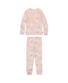 Masala Baby Kids Organic Pajama Set Swan Song
