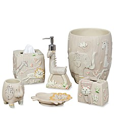 Kids Bath Accessories, Animal Crackers Collection