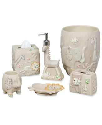Creative Bath Kids Bath Accessories, Animal Crackers Collection