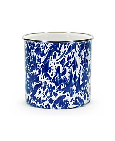 Golden Rabbit Cobalt Swirl Enamelware Collection Utensil Holder