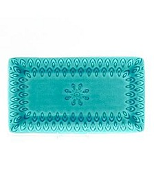 Peacock Rectangular Platter