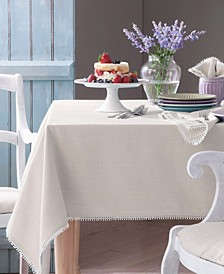 French Perle Natural Table Linen Collection