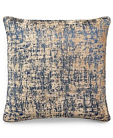 "Home Design Studio Spot Chenille 20"" x 20"" Decorative Pillow, Created for Macy's"