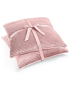 "2-Pk. Quarter Pleat Reversible 20"" x 20"" Decorative Pillows"