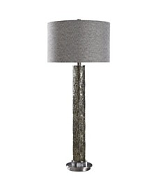 Harp & Finial Geyer Table Lamp